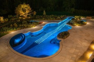 Guitar Pool Lighting